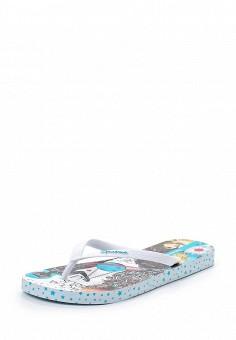 Сланцы, Ipanema, цвет: белый. Артикул: IP124AWTAT98. Женская обувь / Шлепанцы и акваобувь