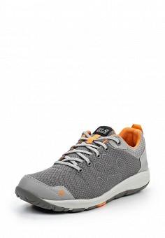 Кроссовки, Jack Wolfskin, цвет: серый. Артикул: JA021AWPDR71. Женская обувь / Кроссовки и кеды / Кроссовки