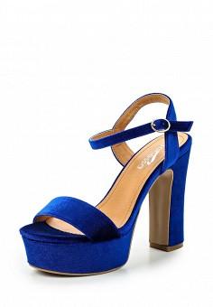 Босоножки, Janessa, цвет: синий. Артикул: JA026AWSZE49. Janessa