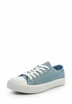 Кеды, Jennyfer, цвет: голубой. Артикул: JE008AWQLG36. Женская обувь / Кроссовки и кеды