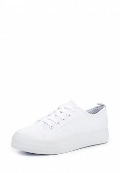 Кеды, Jennyfer, цвет: белый. Артикул: JE008AWQLG41. Женская обувь / Кроссовки и кеды