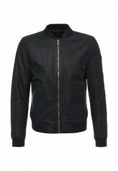 Куртка кожаная, Joop!, цвет: черный. Артикул: JO006EMOLV49. Мужская одежда / Верхняя одежда / Кожаные куртки