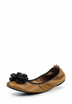 Балетки, Jog Dog, цвет: коричневый. Артикул: JO019AWQFF41. Премиум / Обувь / Балетки