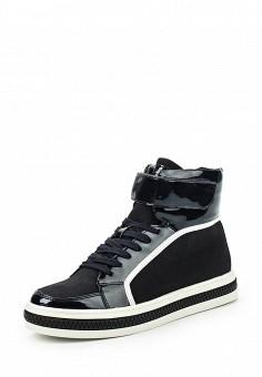 Кеды, Keddo, цвет: черный. Артикул: KE037AWKDY93. Женская обувь / Кроссовки и кеды