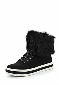Кеды, Keddo, цвет: черный. Артикул: KE037AWKDY96. Женская обувь / Кроссовки и кеды