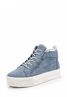 Кеды, Keddo, цвет: голубой. Артикул: KE037AWQCE68. Женская обувь / Кроссовки и кеды