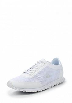 Кроссовки, Lacoste, цвет: белый. Артикул: LA038AWPZN84. Женская обувь / Кроссовки и кеды