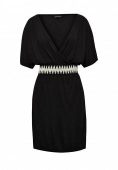 Платье пляжное, Lascana, цвет: черный. Артикул: LA061EWRSP40. Женская одежда / Платья и сарафаны / Летние платья