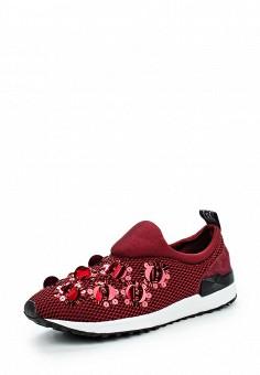 Кроссовки, Liu Jo, цвет: бордовый. Артикул: LI687AWJKV48. Премиум / Обувь / Кроссовки и кеды / Кроссовки
