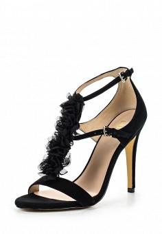 Босоножки, Liu Jo, цвет: черный. Артикул: LI687AWOQB85. Премиум / Обувь