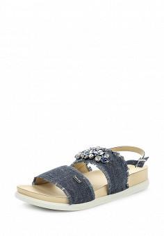 Сандалии, Liu Jo, цвет: синий. Артикул: LI687AWOQC05. Премиум / Обувь