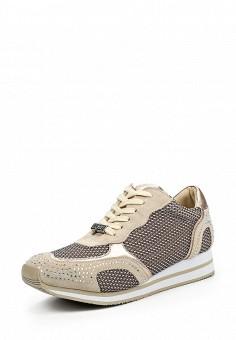 Кроссовки, Liu Jo, цвет: бежевый. Артикул: LI687AWOQE30. Премиум / Обувь