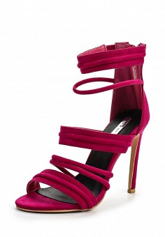 Босоножки, LOST INK, цвет: фуксия. Артикул: LO019AWNRB37. Женская обувь / Босоножки