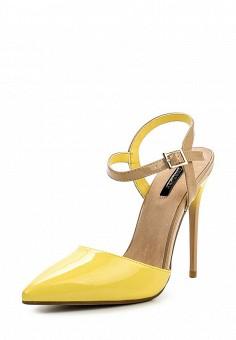 Босоножки, LOST INK, цвет: желтый. Артикул: LO019AWOXI33. Женская обувь / Босоножки