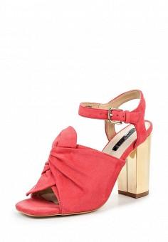 Босоножки, LOST INK, цвет: коралловый. Артикул: LO019AWPTE33. Женская обувь / Босоножки
