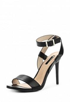 Босоножки, LOST INK, цвет: черный. Артикул: LO019AWPUV26. Женская обувь / Босоножки