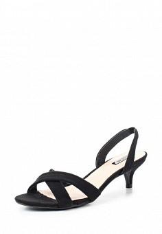Босоножки, LOST INK, цвет: черный. Артикул: LO019AWRCX48. Женская обувь / Босоножки