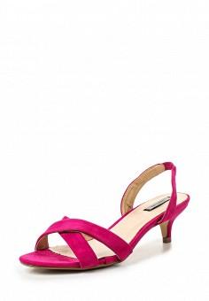 Босоножки, LOST INK, цвет: фуксия. Артикул: LO019AWRCX49. Женская обувь / Босоножки