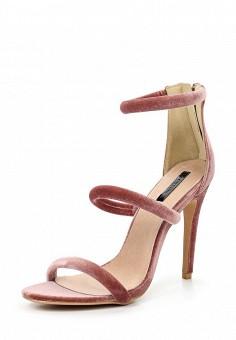 Босоножки, LOST INK, цвет: розовый. Артикул: LO019AWTTD83. Женская обувь / Босоножки