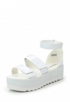 Босоножки, LOST INK, цвет: белый. Артикул: LO019AWTXE65. Женская обувь / Босоножки