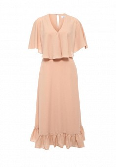 Платье, LOST INK, цвет: бежевый. Артикул: LO019EWJOW33. Женская одежда