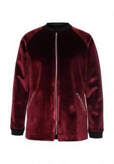 Куртка, LOST INK, цвет: бордовый. Артикул: LO019EWMWW61. Женская одежда