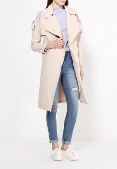 Пальто, Lost Ink, цвет: бежевый. Артикул: LO019EWRDA42.