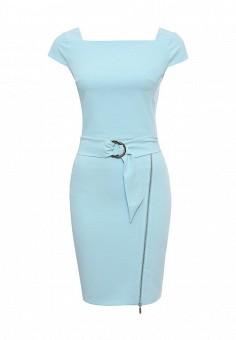 Платье, Love Republic, цвет: голубой. Артикул: LO022EWSAW71. Женская одежда / Платья и сарафаны / Летние платья