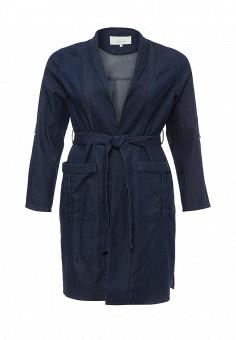 Плащ, LOST INK PLUS, цвет: синий. Артикул: LO035EWQLE98. Женская одежда / Верхняя одежда / Джинсовые куртки