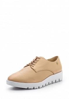 Ботинки, Loucos & Santos, цвет: бежевый. Артикул: LO036AWPMK32. Женская обувь / Ботинки