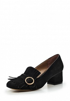 Туфли, Lola Cruz, цвет: черный. Артикул: LO688AWRTT02. Премиум / Обувь / Туфли