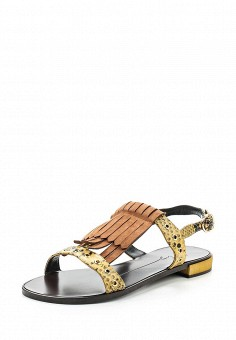 Сандалии, Lola Cruz, цвет: коричневый. Артикул: LO688AWRTT05. Премиум / Обувь / Сандалии