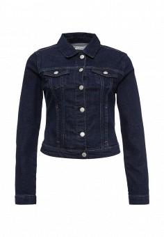 Куртка джинсовая, Mavi, цвет: синий. Артикул: MA008EWRRK54. Женская одежда / Верхняя одежда / Джинсовые куртки