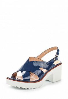 Босоножки, Makfine, цвет: синий. Артикул: MA043AWSJC35. Женская обувь / Босоножки
