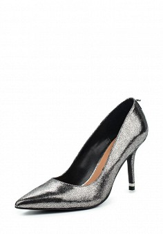 Туфли, Max&Co, цвет: серебряный. Артикул: MA111AWOLS54. Премиум / Обувь / Туфли