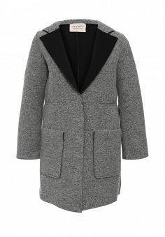 Пальто, Max&Co, цвет: серый. Артикул: MA111EWJSV90. Премиум / Одежда / Верхняя одежда / Пальто