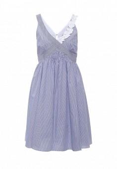 Платье, Max&Co, цвет: голубой. Артикул: MA111EWOLT09. Премиум / Одежда / Платья и сарафаны