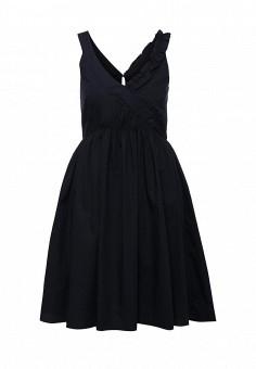 Платье, Max&Co, цвет: синий. Артикул: MA111EWOLT10. Премиум / Одежда / Платья и сарафаны