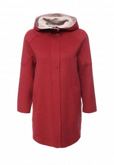 Пальто, Max&Co, цвет: бордовый. Артикул: MA111EWOMK27. Премиум / Одежда / Верхняя одежда / Пальто