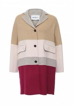 Пальто, Max&Co, цвет: мультиколор. Артикул: MA111EWOMK68. Премиум / Одежда / Верхняя одежда / Пальто