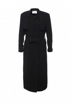 Пальто, Max&Co, цвет: черный. Артикул: MA111EWOML23. Премиум / Одежда / Верхняя одежда / Пальто