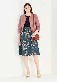 Куртка кожаная, Max&Co, цвет: розовый. Артикул: MA111EWUBZ32. Женская одежда / Верхняя одежда / Кожаные куртки