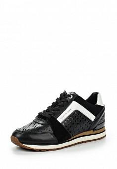 Кроссовки, Michael Michael Kors, цвет: черный. Артикул: MI048AWNZQ00. Премиум / Обувь / Кроссовки и кеды