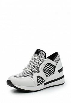 Кроссовки, Michael Michael Kors, цвет: белый. Артикул: MI048AWUWP58. Премиум / Обувь / Кроссовки и кеды