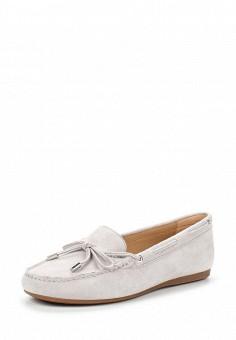 Мокасины, Michael Michael Kors, цвет: серый. Артикул: MI048AWUWP77. Женская обувь / Мокасины и топсайдеры