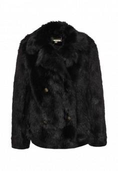 Шуба Michael Michael Kors, цвет: черный. Артикул: MI048EWMBU57. Женская одежда