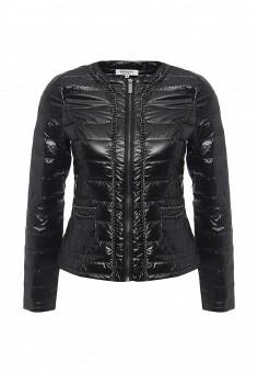 Куртка, Morgan, цвет: черный. Артикул: MO012EWOPL94. Женская одежда / Верхняя одежда / Пуховики и зимние куртки