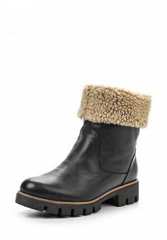 Полусапоги, Modelle, цвет: черный. Артикул: MO051AWKAZ75. Женская обувь / Сапоги