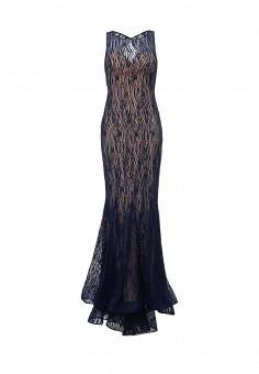 Платье, To be Bride, цвет: синий. Артикул: MP002XW0DPAB. Женская одежда / Платья и сарафаны / Вечерние платья