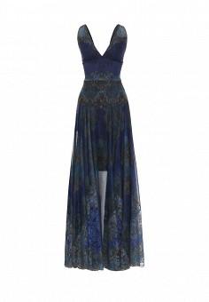 Платье, Michal Nergin, цвет: синий. Артикул: MP002XW1GIXD. Женская одежда / Платья и сарафаны / Вечерние платья